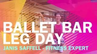 Ballet Bar Leg Day - Video