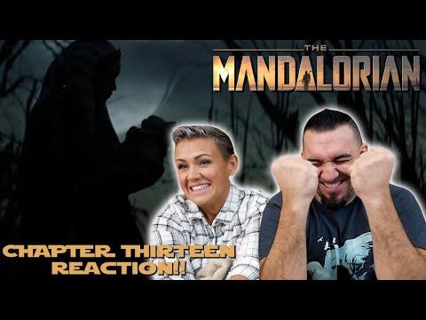 The Mandalorian Chapter 13 'The Jedi' REACTION!!