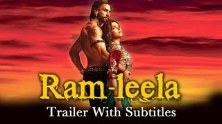 Ram-leela - Theatrical Trailer with English Subtitles ft. Ranveer Singh&Deepika Padukone