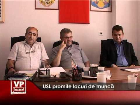 USL promite locuri de muncă