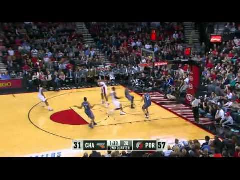 Charlotte Bobcats 68 – Portland Trail Blazers 112