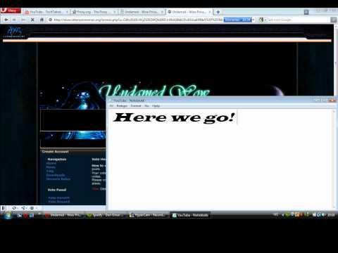 wow WORKING vote hack! 2012