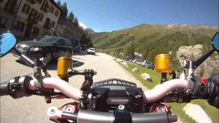 10. Ducati Streetfighter S Bernina pass