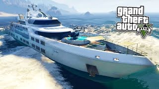 "GTA 5 NEW DLC ""GTA Online: Executives and Other Criminals Update"" showcase showing all of the new cars, yachts, weapons, ..."