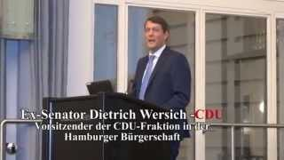 Ex-Senator Dietrich Wersich -CDU Speaks at AYE AWARDS -IHK Hamburg