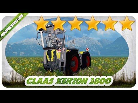 Claas Xerion 3800 SaddleTrac v3.0
