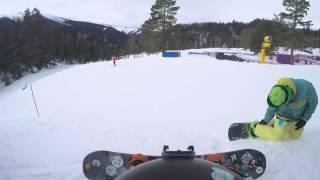 Tak kończą barany na stokach narciarskich…