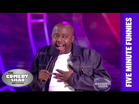 Donnell Rawlings⎢Brothers have two kinds of laughs⎢Shaq's Five Minute Funnies⎢Comedy Shaq