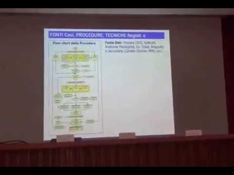 Presentazione registro tumori