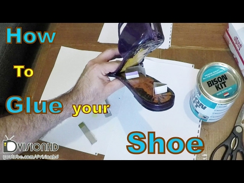 How to repair your shoe