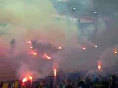 Levski vs Barca – the fans before the kick-off