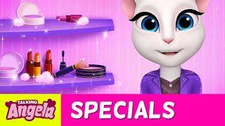 Talking Angela - One Minute Makeup Challenge ♡