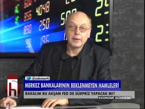 Dr. Cüneyt Akman'la Ekonomi: FED bu akşam da sürpriz yapacak mı?
