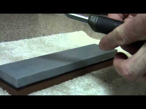 How I Use a Japanese Wet Stone to Sharpen Knives