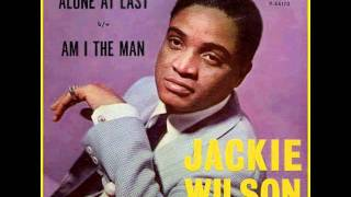 Jackie Wilson - Alone At Last (Best Quality) Video