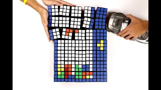 Tetris Cube - Stop Motion