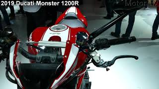 9. Ducati Monster 1200R motor terbaru 2019-motor jet milik ducati