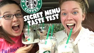 STARBUCKS SECRET MENU TASTE TEST FT MY COUSIN! by GRAV3YARDGIRL