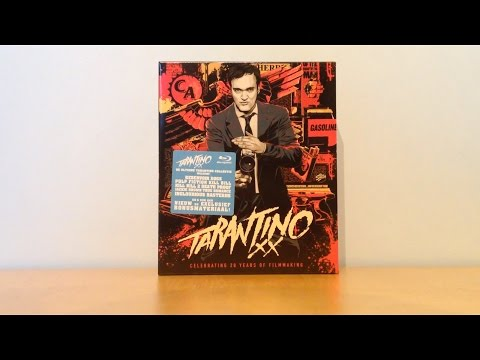 Tarantino XX Blu-ray Collection Unboxing