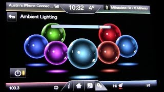 2014 Ford Fusion Ambient Lighting Demo