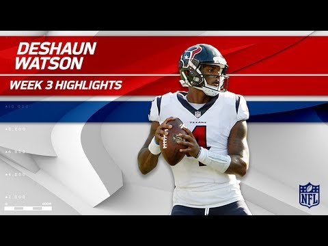 Deshaun Watson Highlights vs. New England | Texans vs. Patriots | Wk 3 Player Highlights (видео)
