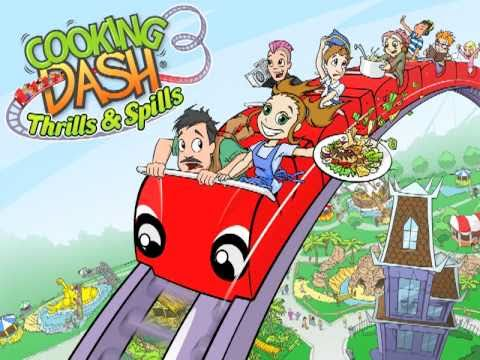 Cooking Dash 3: Thrills And Spills - Official Trailer