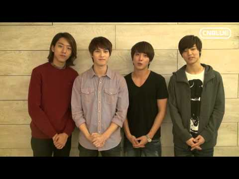 CNBLUE's Thanksgiving Day message!