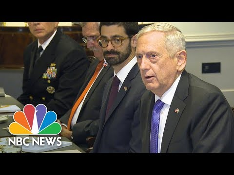 Defense Secretary James Mattis Confirms Niger Military Deaths Under Investigation | NBC News