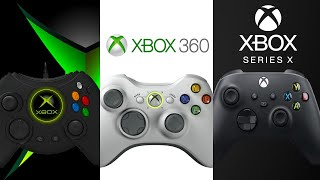 THE HISTORY AND EVOLUTION OF XBOX CONTROLLERS ( 2001 - 2020 ) XBOX SERIES X by DigitalModz