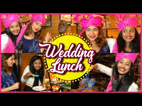 Tina Ann Philip's Wedding Lunch | Radisson Mumbai