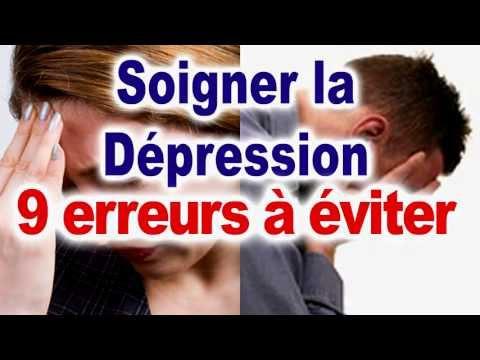 comment soigner la depression