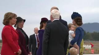 Prince George (BC) Canada  city pictures gallery : Prince William and Kate along with Prince George and Princess Charlotte arrive in Victoria
