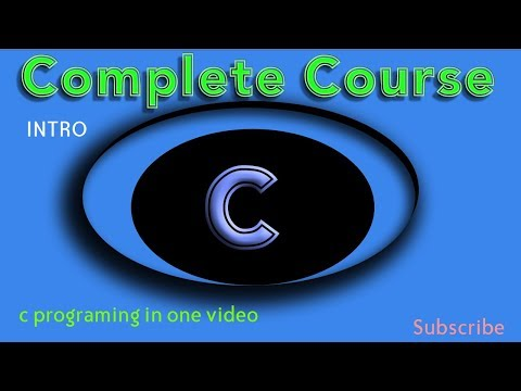 Complete Course Video for C programming  | Learn c programming  | C tutorial video  | Complete C