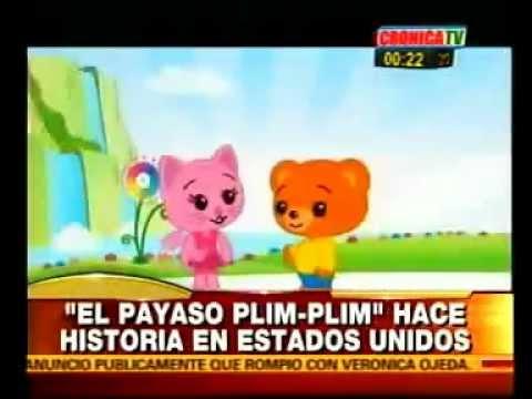 El Payaso Plim Plim, un Héroe del Corazón en USA. Crónica TV