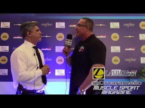 Emanuel Caruso Mister Rio IFBB Pro League 2018 fase I - Caramello nutricionista