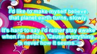 Fireflies (Fire flies) - Owl City (NEW SONG, ALBUM OCEAN EYES, HQ) LYRICS