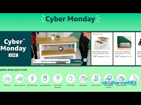 Best Cyber Monday Deals on Amazon 2019 + 20% Discount on eBay store