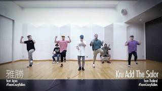 Team Crazy Rollers (Kite, Fishboy, MT Pop, Marzipan, HIRONA, Kru Add The Salor, 雅勝) – DANCE DANCE ASIA Promotional Video