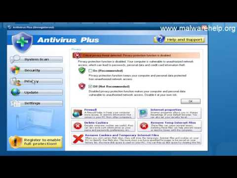 0 Antivirus Plus Analysis and Removal