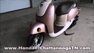 5. 2014 Honda 50cc Scooter Pink / Metropolitan SALE - Honda of Chattanooga TN GA AL Scooter Dealer