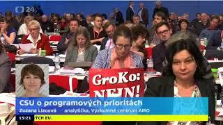 Jednání o složení vlády v Německu