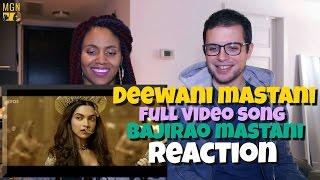 Video Deewani Mastani Full Video Song | Bajirao Mastani Reaction MP3, 3GP, MP4, WEBM, AVI, FLV September 2019
