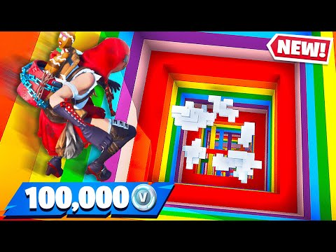 Little Brother Gets 100K Vbucks if He Wins! (Fortnite Rainbow Dropper) - Thời lượng: 18 phút.