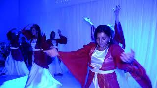 Encenação de dança durante aniversário da Igreja Batista da Restauração