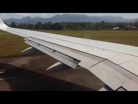 Take Off From  Minangkabau International Airport , Padang - Indonesia