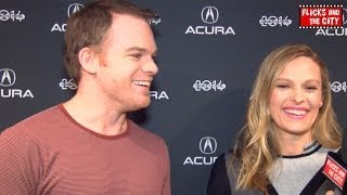 Michael C. Hall & Vinessa Shaw Interview on Cold In July & Dexter Spin-Off at 2014 Sundance Film Festival.