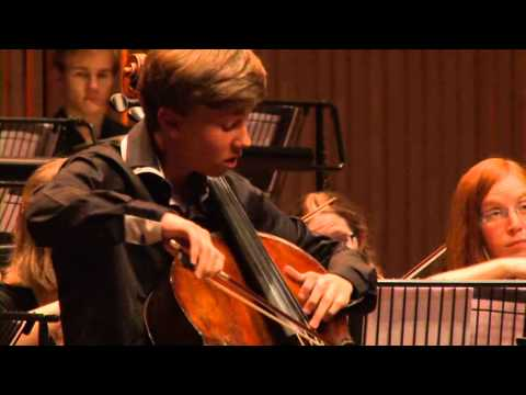 Finals National Cello Competition - Elgar 2nd movement - Jonathan Roozeman