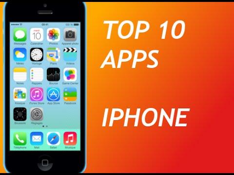 TOP 10 Applications gratuites pour Iphone / Ipod