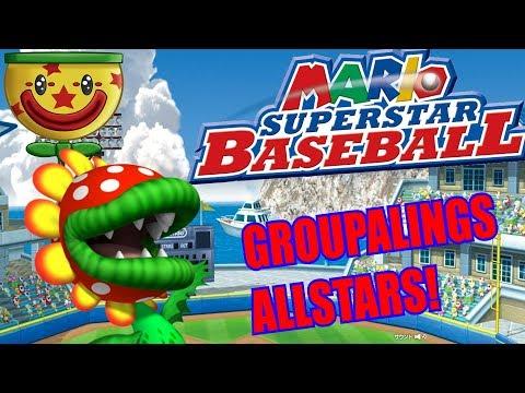 Nintendo Wii U - Super Mario Sluggers - GROUPALING ALLSTAR TEAM [BEST REACTION]