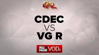 VG Reborn vs CDEC.A, game 1